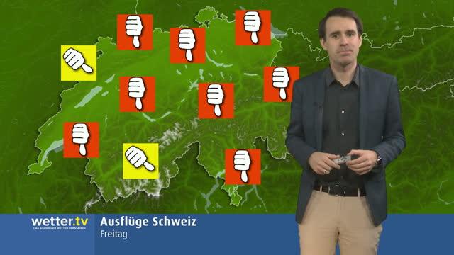Ausflugswetter Schweiz