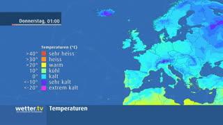 Urlaubswetter Europa