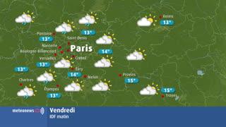 météo Ile de France