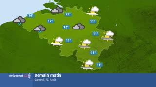 Flash météo Belgique